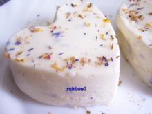 Dessert: Flower-Power - Panna-Cotta - Rezept