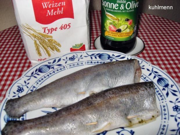 Spargel zu Brat-Forelle mediterran - Rezept - Bild Nr. 3