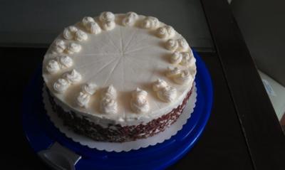 Mascarpone - Creme Torte leicht gemacht!!! Ohne Gelatine! - Rezept