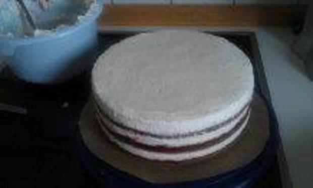 Mascarpone - Creme Torte leicht gemacht!!! Ohne Gelatine! - Rezept - Bild Nr. 7