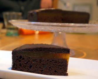 Schoko-Aprikosen-Torte - Rezept