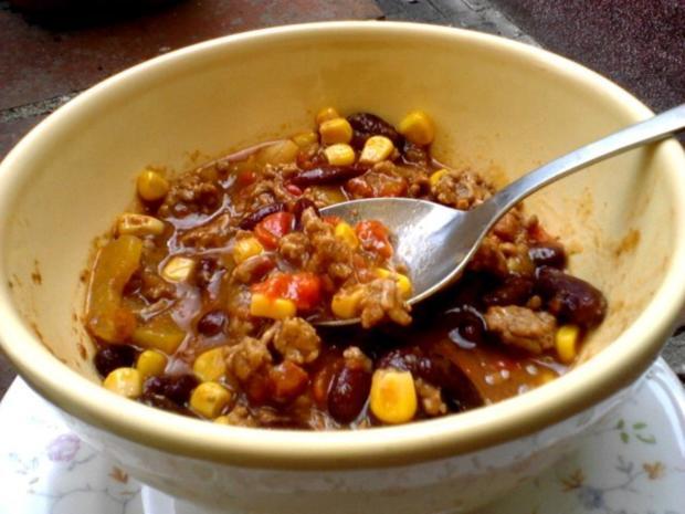Chili con Carne -Meine Art- - Rezept