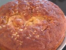 Apfel-Zimt-Mandel-Kuchen - Rezept
