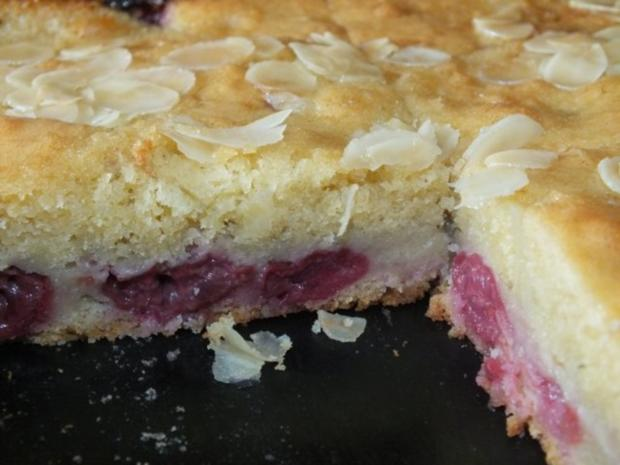 Kirschkuchen Mit Teig Und Schlagsahne Rezept Mit Bild Kochbar De