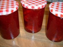 Erdbeermarmelade mit Vanille - Rezept