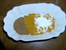 Würzsalz mit Currygewürz und 5 Gewürz - Rezept