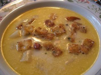 Rezept: Suppen: ..und noch eine Spargel-Creme-Suppe