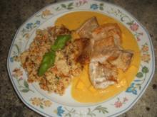 Fisch: Fisch-Nuggets in Mangosoße - Rezept