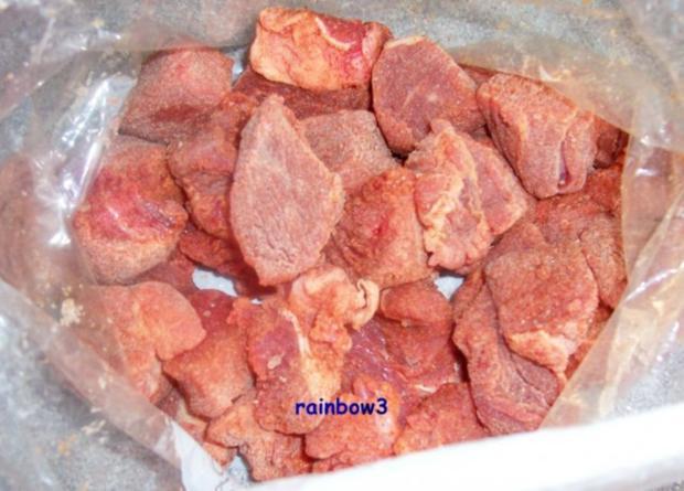 Kochen: Rind-Gulasch, leicht scharf - Rezept - Bild Nr. 2