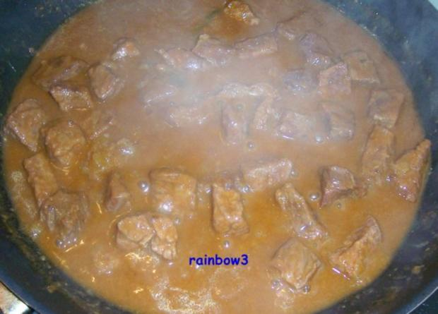 Kochen: Rind-Gulasch, leicht scharf - Rezept - Bild Nr. 5