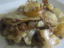 Kartoffel-Kraut-Hack-Auflauf - Rezept