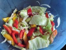 einfach ein bunter Salat - Rezept