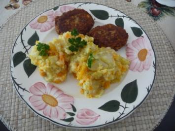 Beilage : Kartoffel - Möhren - Kohlrabi - Brei - Rezept