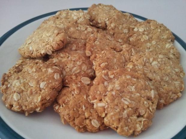 Anzac biscuits - Rezept