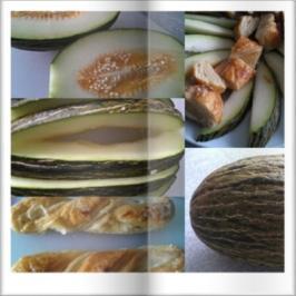Melone mit Marzipan Teig Stritzel - Rezept - Bild Nr. 19