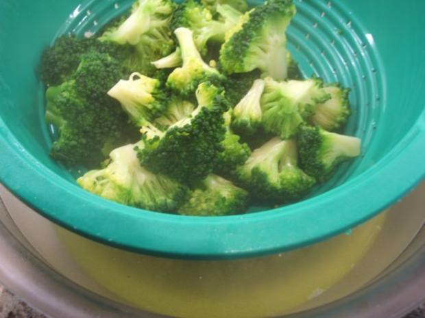 Auflauf: Blumenkohl-Broccoli-Auflauf mit geräuchertem Schweinehalsbraten - Rezept - Bild Nr. 5