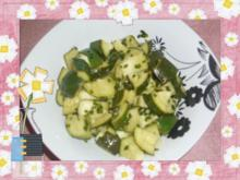 Zucchini-Salat - Rezept