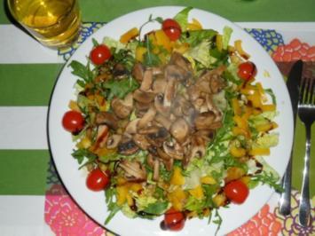 Pilzsalat - Rezept