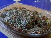 Fleisch: Mariniertes Nackenkotelett im mediteranem Gemüsebett - Rezept