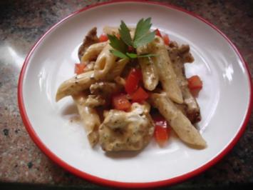 Nudel-Gyros-Salat - Rezept