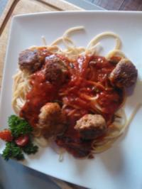 Rezept: Tonno palle di Spaghetti pomodore