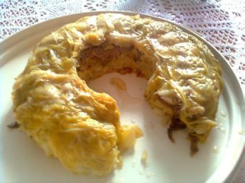 Wirsing-Kuchen - Rezept