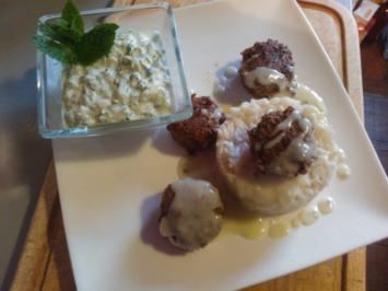 Bifteki de la Casa - Rezept