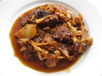 Bigos - polnischer Krauttopf - Rezept