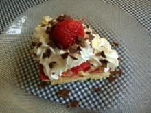 Erdbeer-Puddingtorte - Rezept