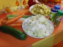 Bunte Gemüsesuppe.... - Rezept