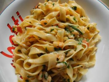 Garnelen-Tomaten-Pfanne - Rezept