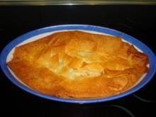 Spinat-Käse-Garnelen Strudel - Rezept