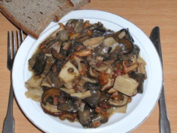 Pilze: Mischpilze klassisch - Rezept
