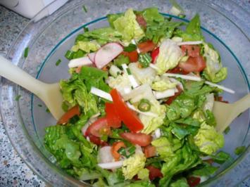 Herzhafter Salat - Rezept