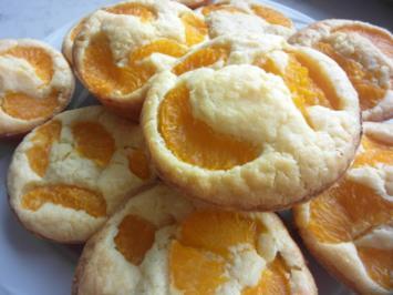 Mandarinen-Kokos-Muffins mit Stevia - Rezept