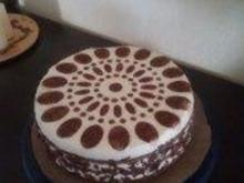 Mascarpone- Creme Torte Variation 2 - Ohne Gelatine!! - Rezept