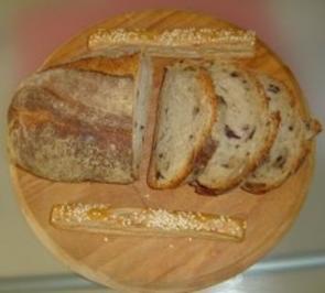 Olivenbrot - Zeytinli ekmek - Rezept