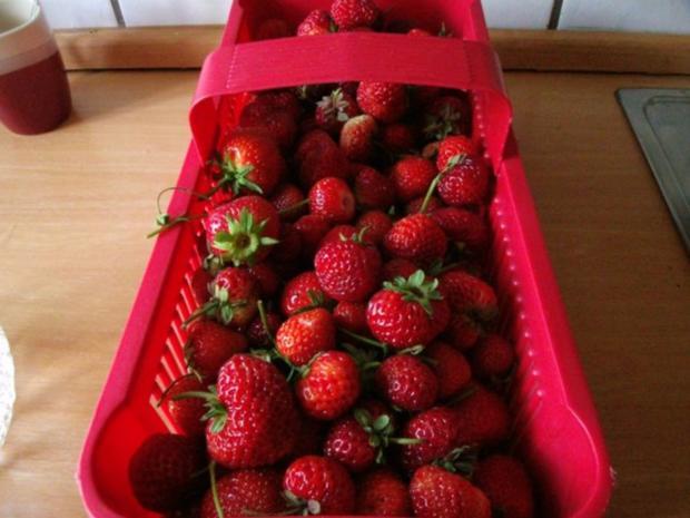 eingekochte Erdbeeren - Rezept - Bild Nr. 2