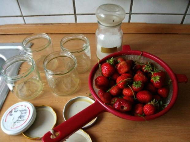 eingekochte Erdbeeren - Rezept - Bild Nr. 3