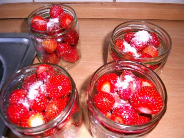 eingekochte Erdbeeren - Rezept - Bild Nr. 4