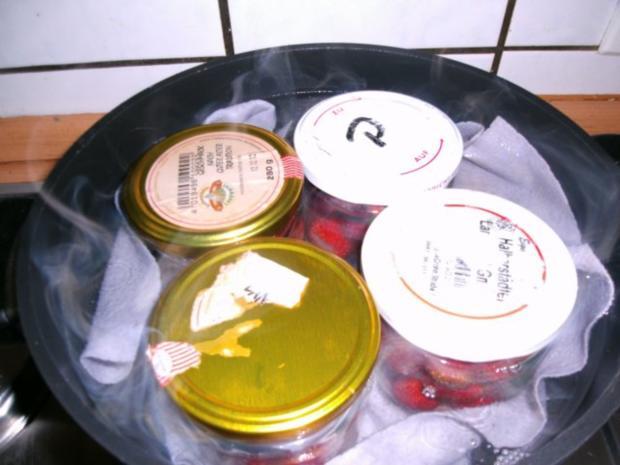 eingekochte Erdbeeren - Rezept - Bild Nr. 6
