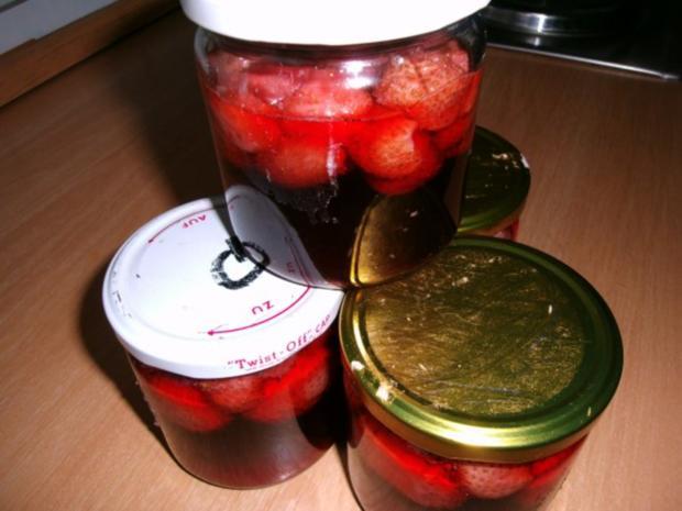 eingekochte Erdbeeren - Rezept - Bild Nr. 8