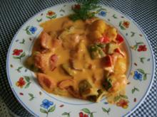 Paprika-Tomatengemüse - Rezept