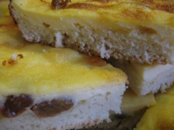 Blechkuchen Quarkkuchen - Rezept
