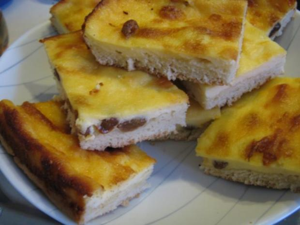 Blechkuchen Quarkkuchen - Rezept - Bild Nr. 2