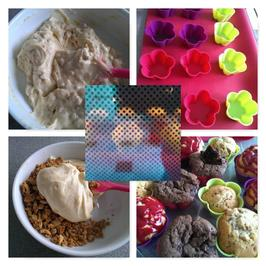 Rezept: Kleingebäck = Muffins (Grundrezept)
