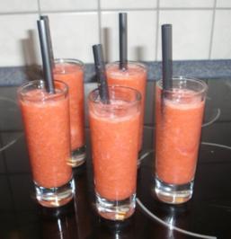 Erdbeer-Shooter - Rezept