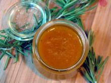 Aprikosen-Rosmarin-Marmelade - Rezept