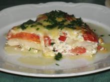 Gemüse - Kohlrabi und Tomaten überbacken ... - Rezept
