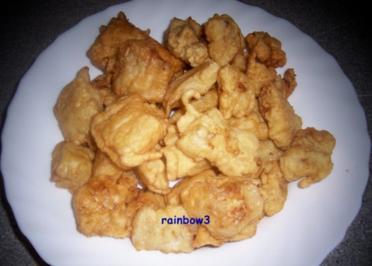 Kochen: Fischfilet im Pfannkuchenteig - Rezept